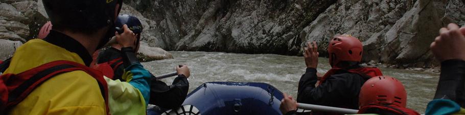Δραστηριότητες Rafting